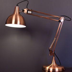 MINI-PIXAR-Designer-Table-Desk-Lamp-Light-COPPER-Modern-Industrial-Retro-GIFT