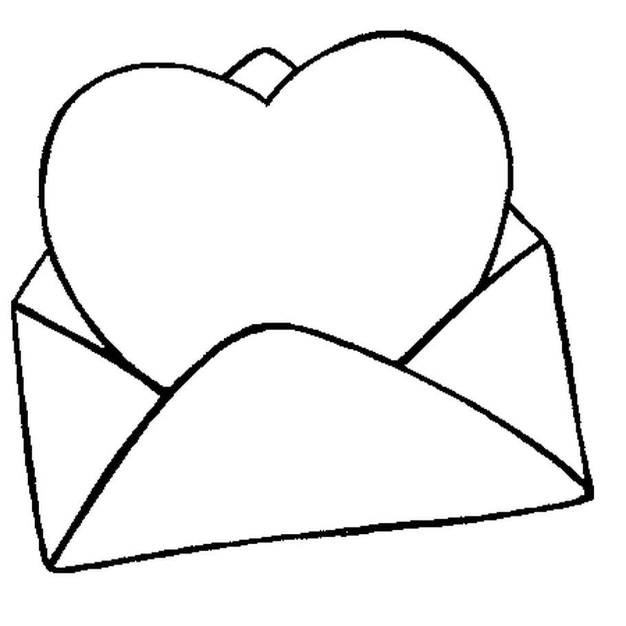 Coloriage Carte St Valentin En Ligne Gratuit A Imprimer Carte St