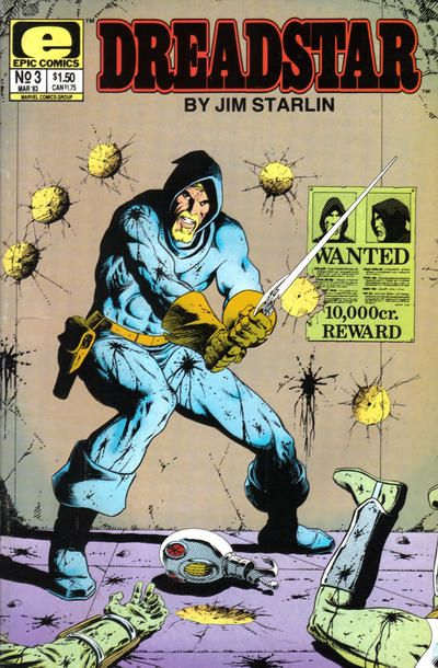dreadstar comic