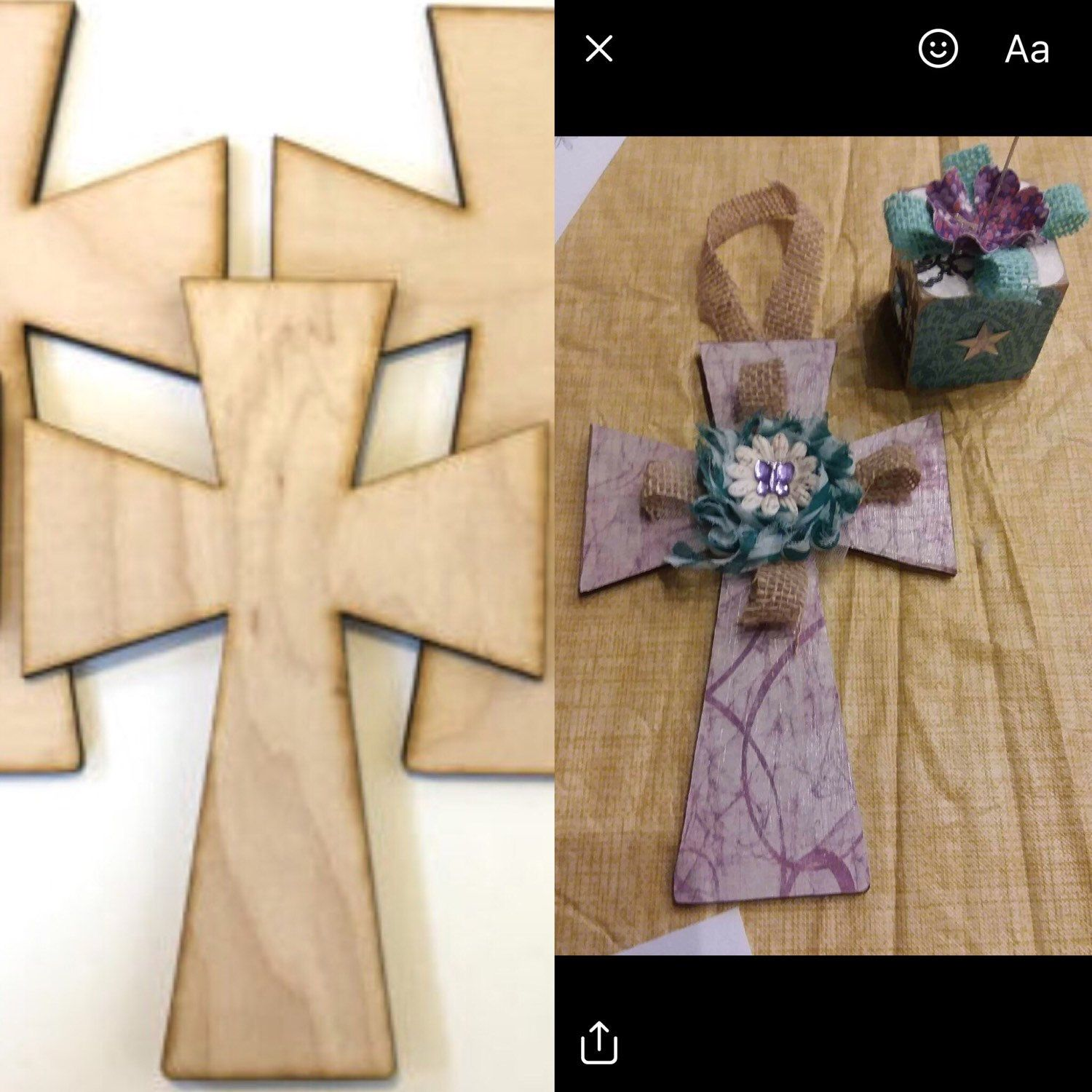 Unfinished wood craft products - Unfinished Wood Crosses Wood Cross Easter Supplies Easter Craft Supplies Religious Crafts Holiday Craft Supplies Wood Ornament