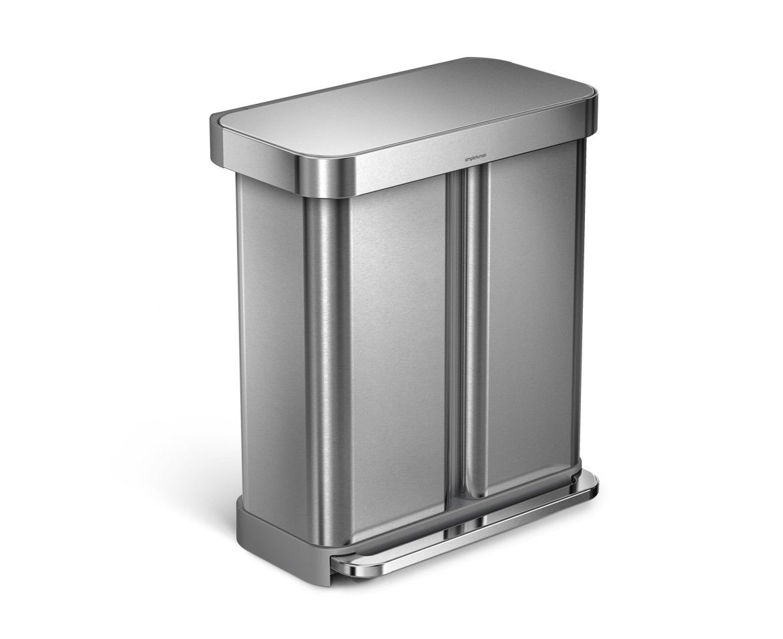 Best Rectangular Step Can With Liner Pocket Kitchen Trash 400 x 300