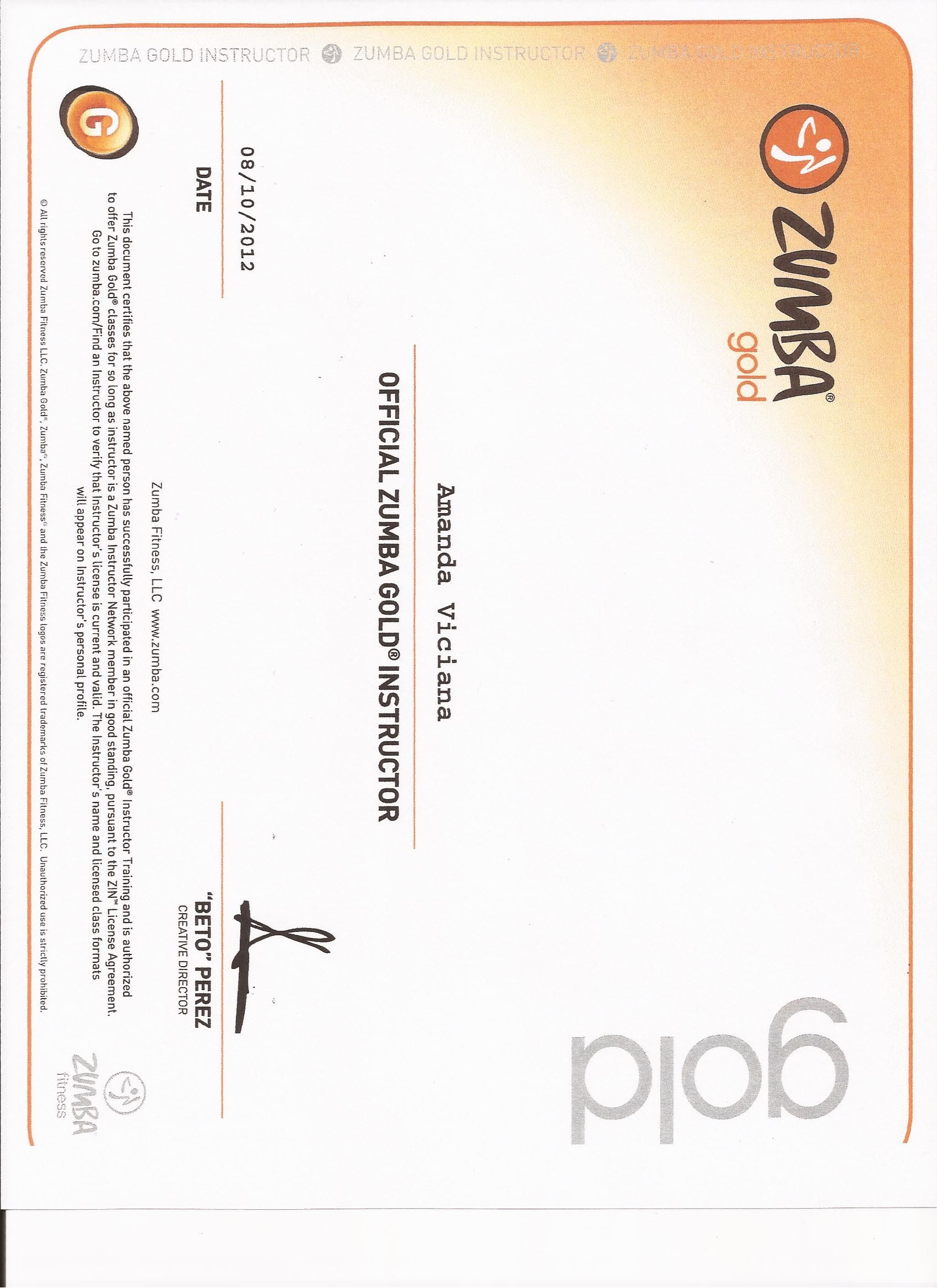 Zumba Gold Certification Work Hard Fitness Zumba Fitness