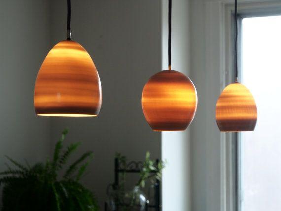porcelain pendant shade, hanging lamp, translucent ceramic ...