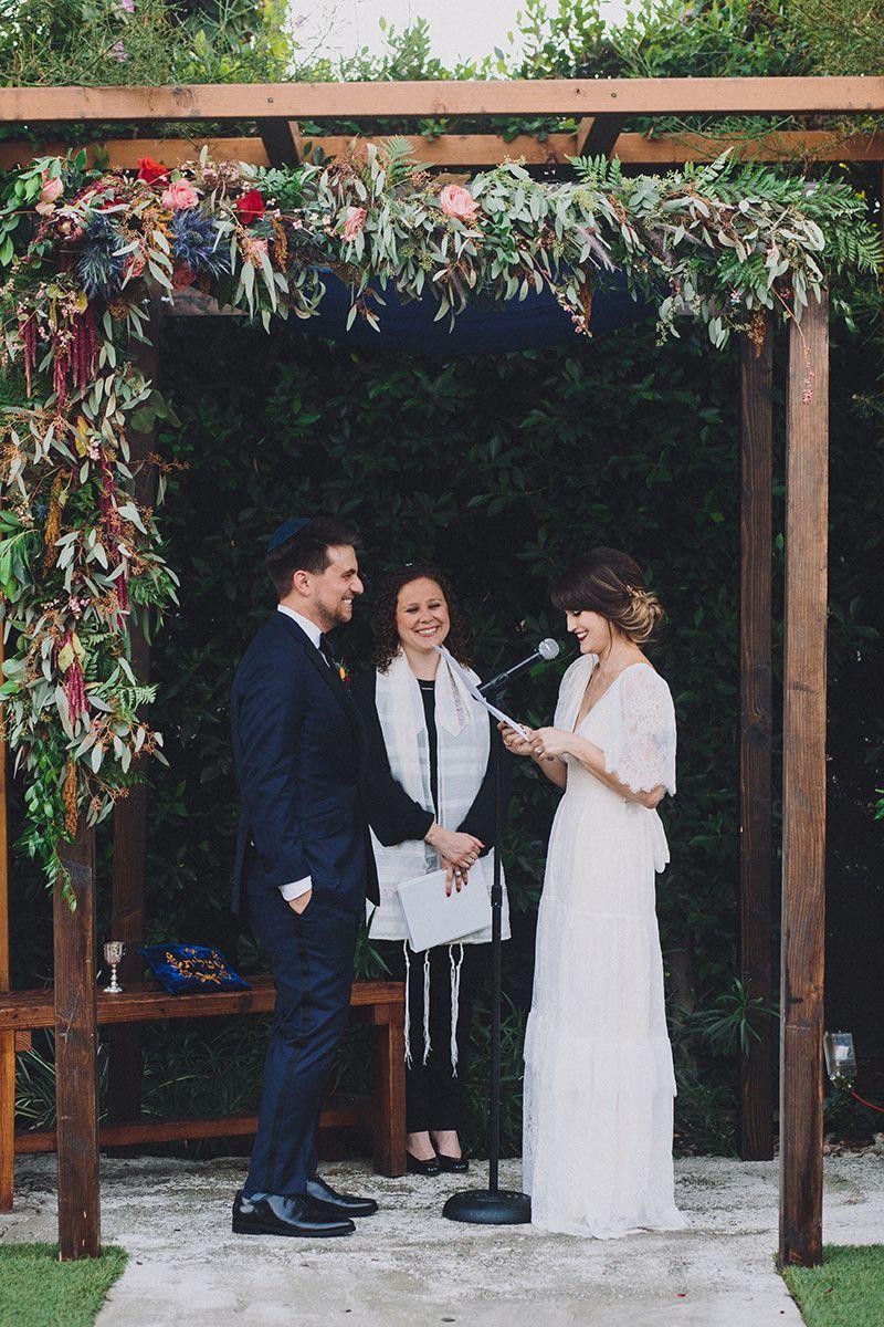 Bride & Groom under the chuppah, Jewish Wedding Ceremony