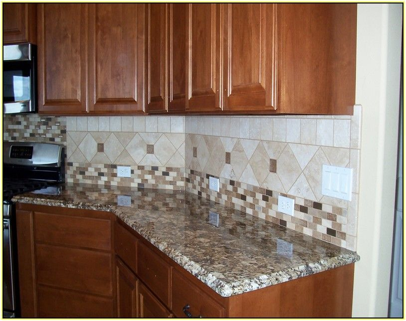 Subway Tile Kitchen Backsplash Patterns Tiles Marble Mosaic With