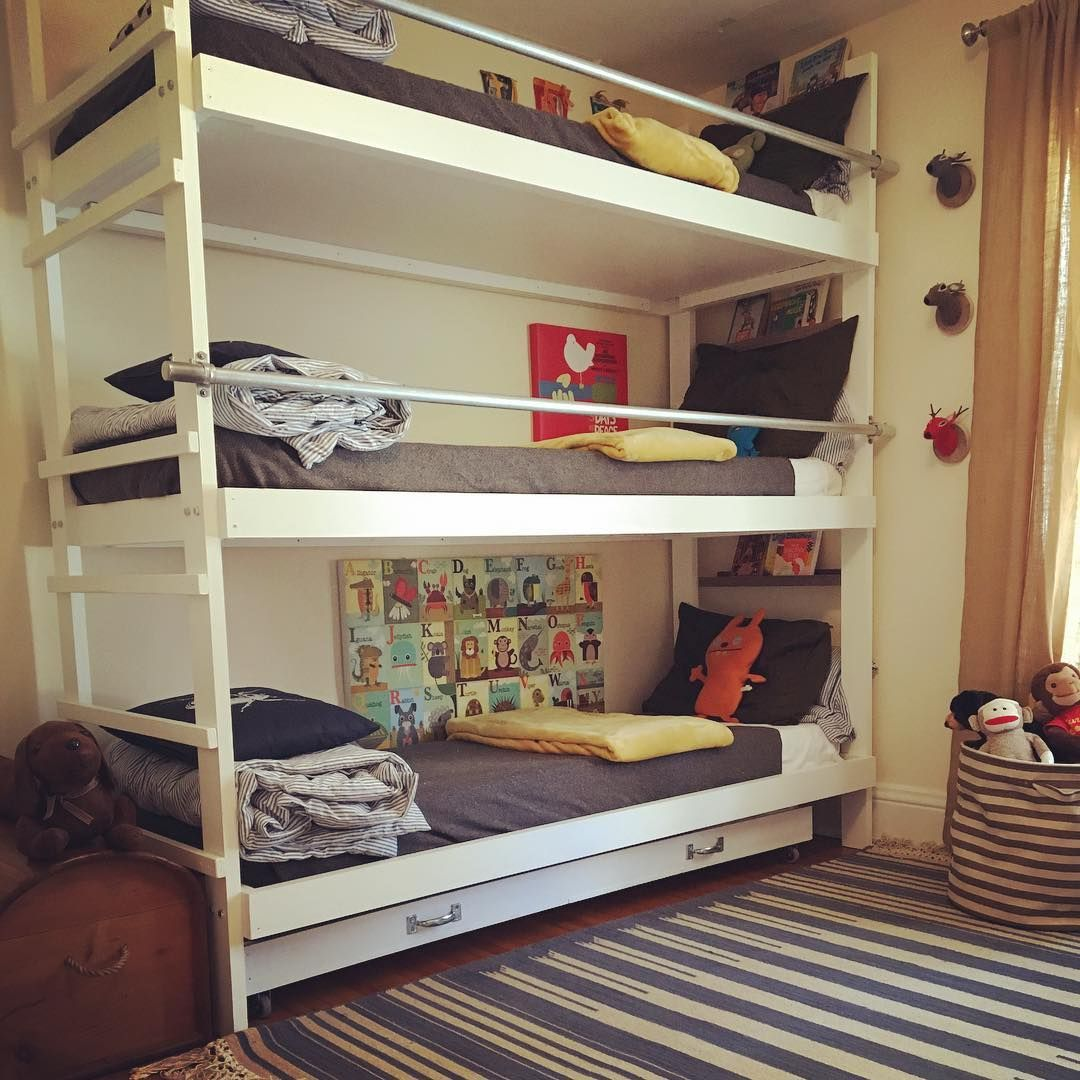 Triple Bunk Beds With Trundle Is What You Need When You