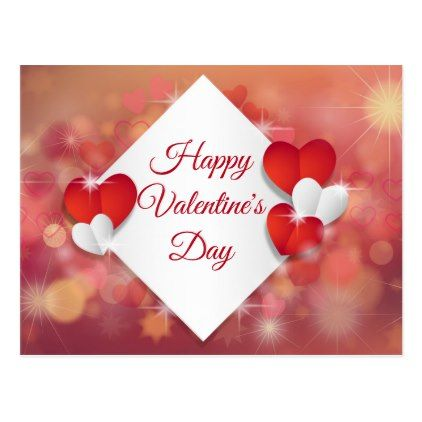 Happy ValentineS Day Postcard  Valentines Day Gifts Gift Idea