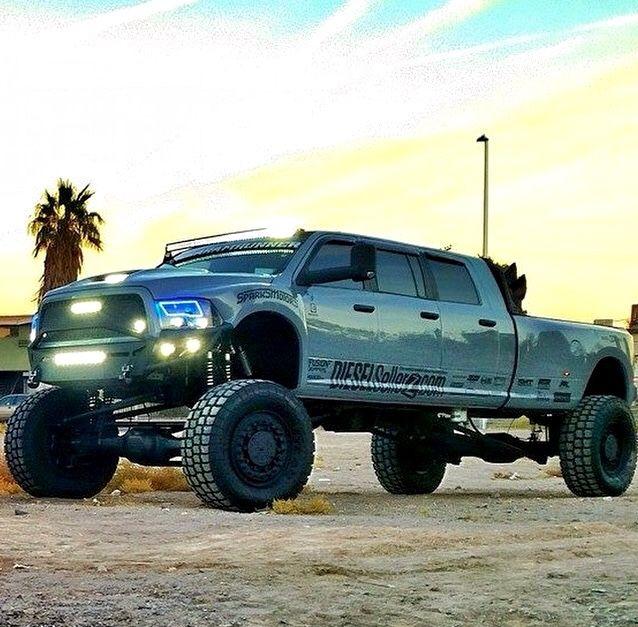 Dodge Cummins Diesel 'Mega Ram Runner' 4WD   6-Door, MRAP