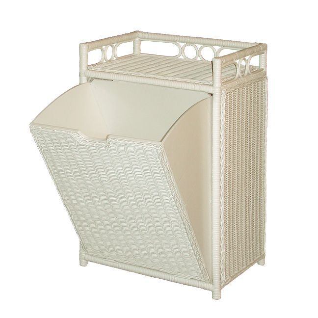 Wicker Hamper Bin Any Time A Household Accent Item Or