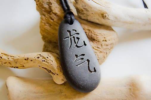 VYBRANE SLOVO NA ZELANIE - Cinske pismo - kamen