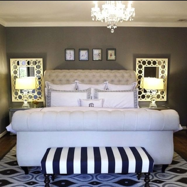 mirrors behind night stands small master bedroom on discover ideas about master dream bedroom id=77654