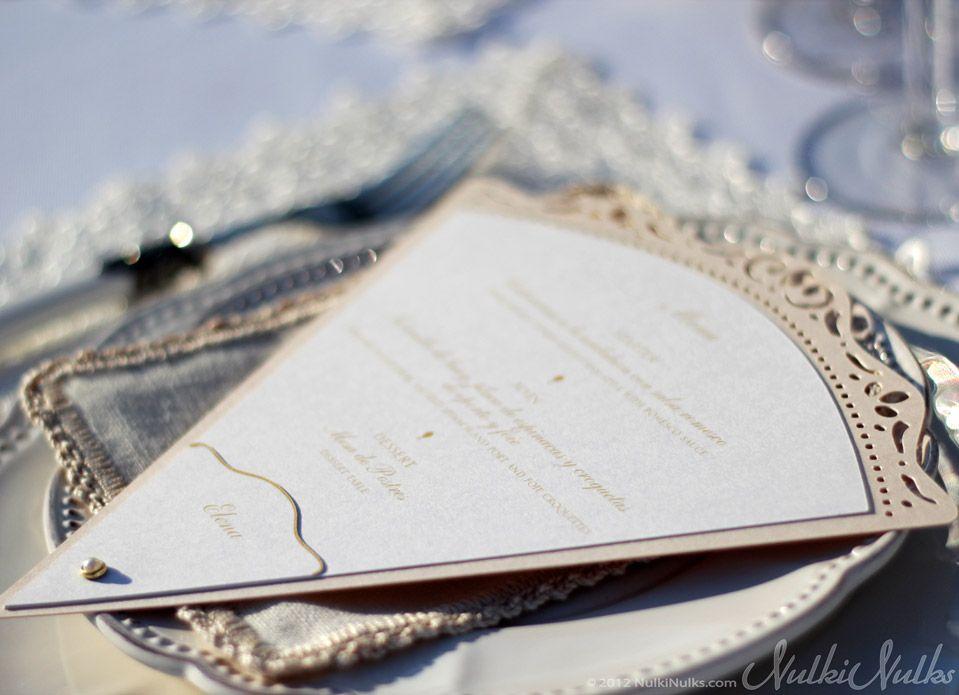 Wedding fan Menu and Name Card   Wedding   Pinterest   Menu, Fans ...