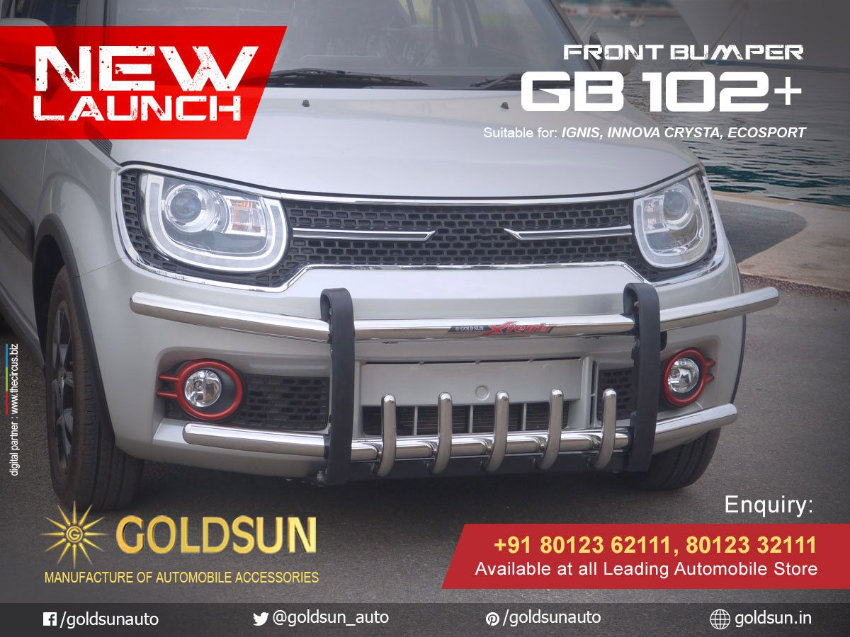 Goldsun Introduces Strong And Stylish Front Bumper Gb 102 For