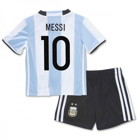 Argentina Barn 2016 Lionel Messi 10 Hemmatröja Kortärmad  #Billiga  #fotbollströjor