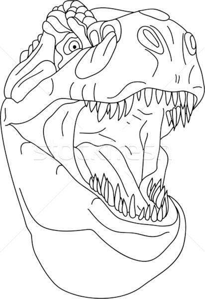 Pin Von Yariza Ortiz Auf Cakes Malvorlage Dinosaurier Gesichtsschablone Dinosaurier Kunst