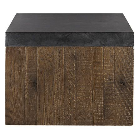 Thayer 24 Cube In Ashland Brown With Images Furniture Arhaus