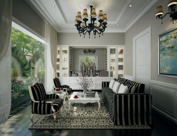 inspiration-décoration-salon-design-contemporain-aménagement ...