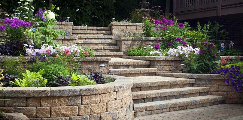 17 Best 1000 images about garden retaining wall on Pinterest Terraced