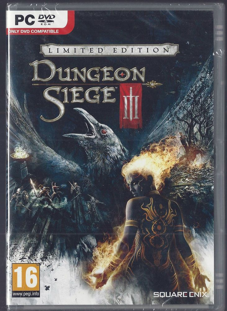 Dungeon Siege III: Limited Edition (PC DVD) BRAND NEW