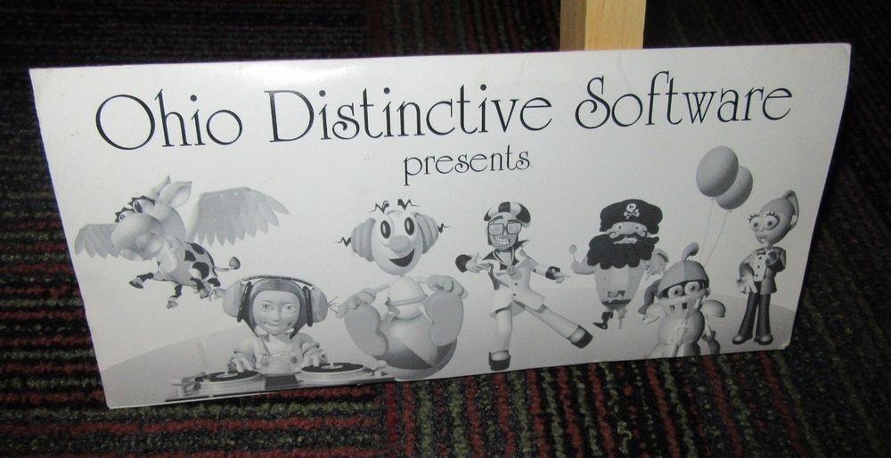 OHIO DISTINCTIVE SOFTWARE: TEACHER'S EDITION 4-DISC PC CD-ROM SET