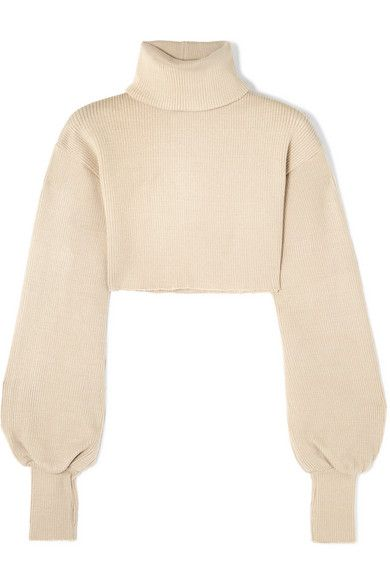 9cb1e686fb2 Orseund Iris - Cropped ribbed-knit turtleneck sweater in 2019 ...