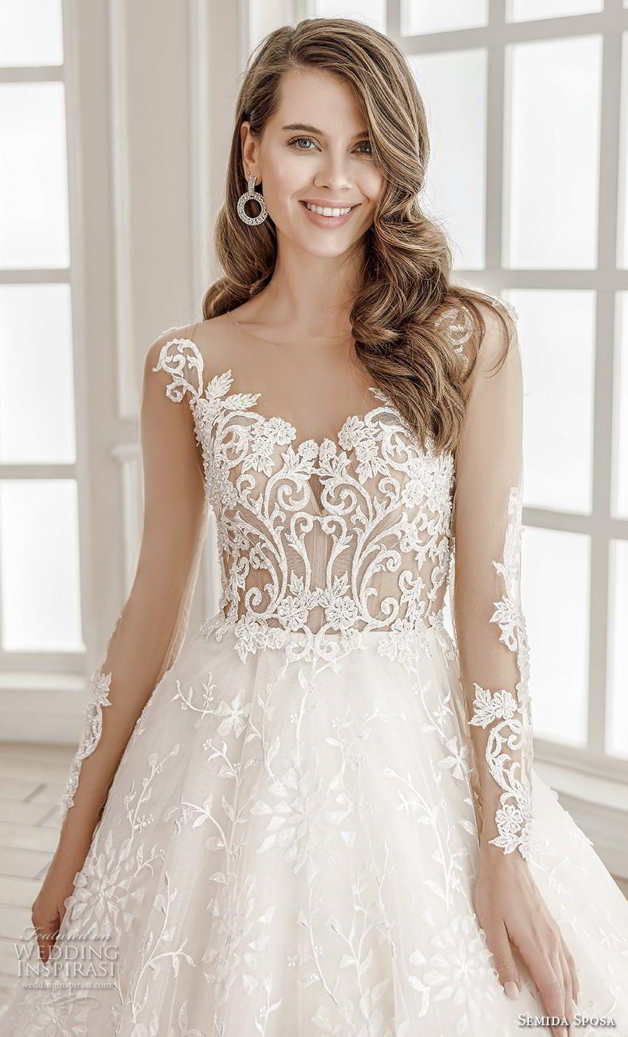 Semida Sposa 2020 Wedding Dresses Amazon Bridal Collection Wedding Inspirasi Wedding Dresses Amazon Wedding Dresses Romantic Event Dresses