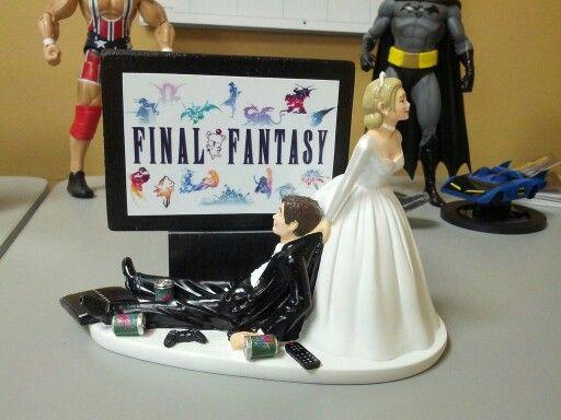 Final Fantasy Caketopper