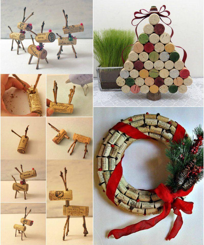 Decoration De Noel A Faire Soi Meme Des Idees Diy Faciles Et Pas Cheres Decoration Noel Deco Noel Decoration Table De Noel