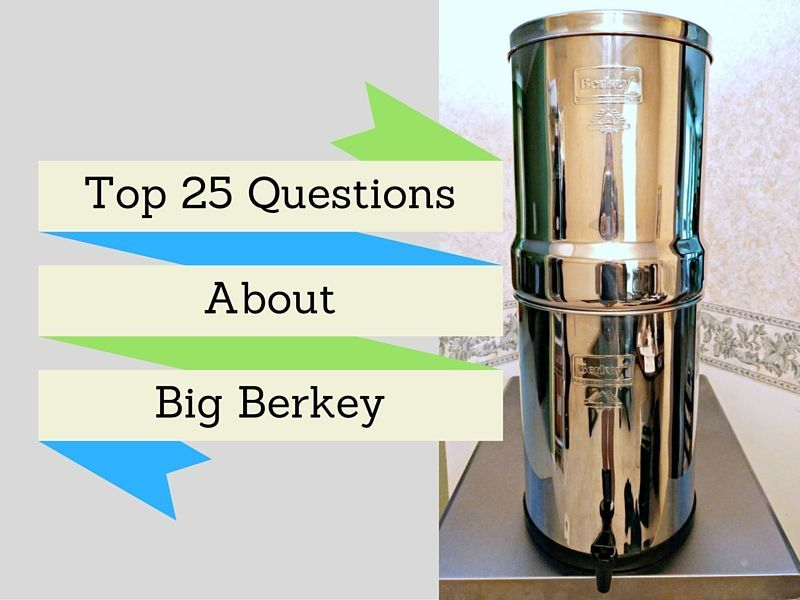 Big Berkey Water Filter Review Your Questions Answered The Safe Healthy Home Berkey Water Filter Berkey Water Water Filter