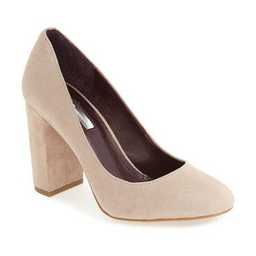 franka block heel pump by BCBGeneration. A sleek block heel provides a modern finish for a perfectly poised, eminently versatile round-toe pump.