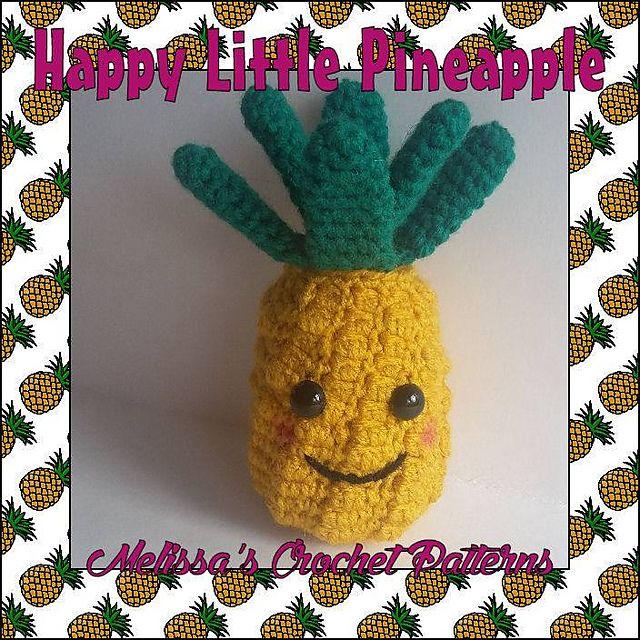 Crochet Pineapple Free Pattern Crochet Pinterest Crochet Food