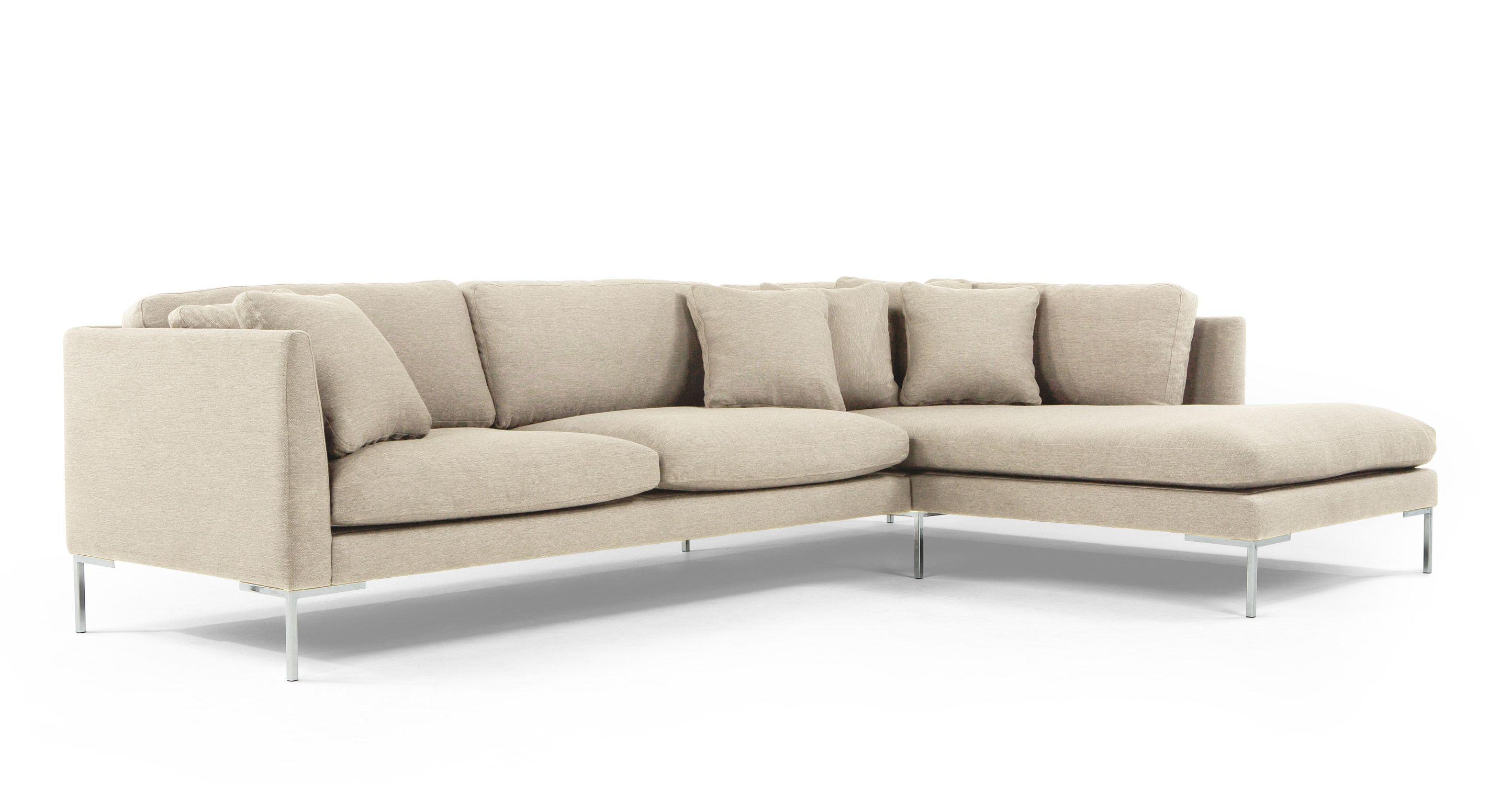 Our sofa Venturi Left Hand Facing Corner Unit, Byron Beige