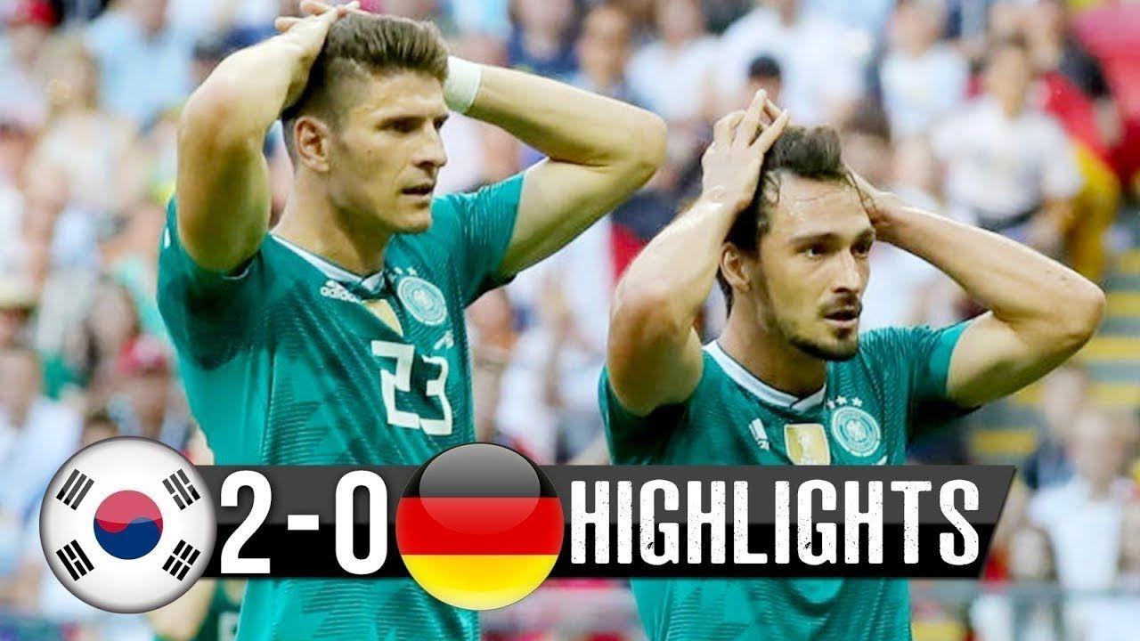 South Korea Vs Germany 2 0 Goals Highlights 2018 Fifa World Cup Korea Match Highlights Highlights