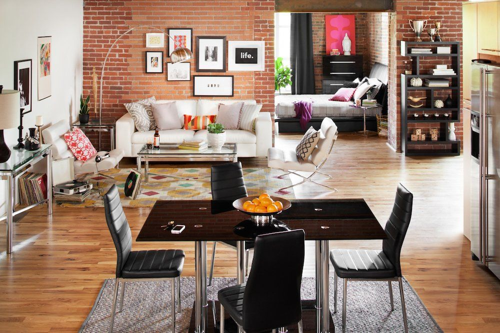 Home City Furniture Style Plans Alluring How To Style An Open Floor Plan Home — American Signature . Design Decoration