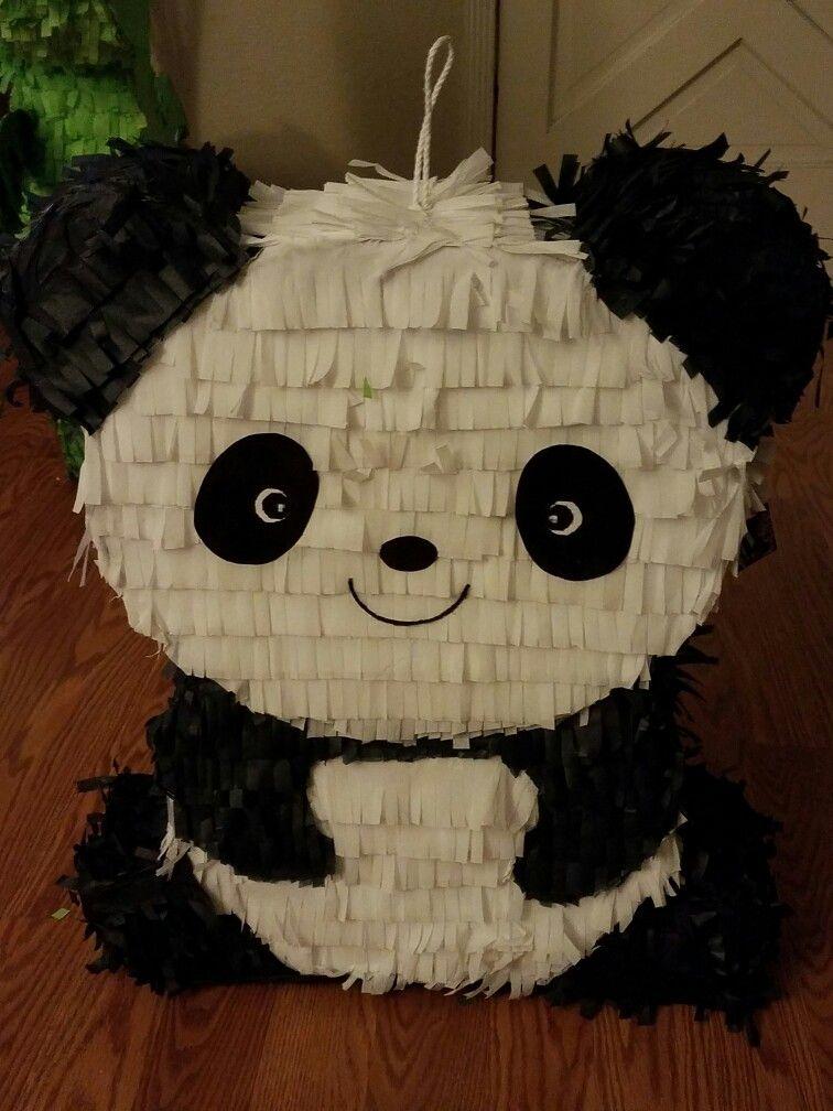 cute panda pinata like share us on facebook my party pinatas pi atas pinterest panda. Black Bedroom Furniture Sets. Home Design Ideas