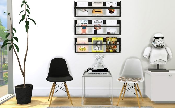 Chair Shelf Deco Busts At Mxims Via Sims 4 Updates