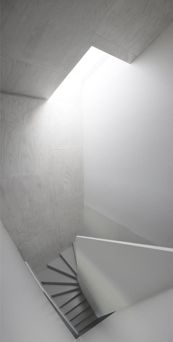 Staircase by X Architecten.