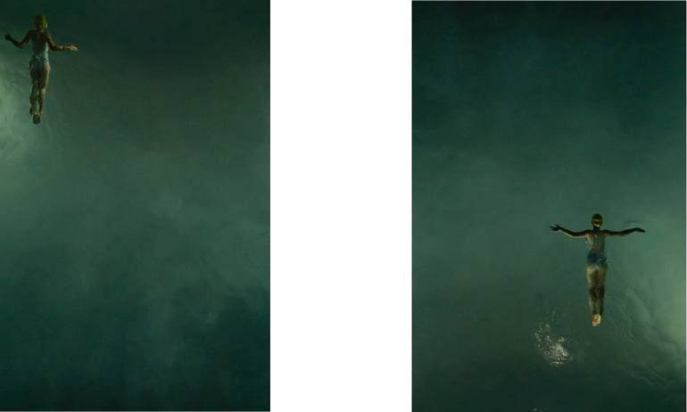 'The Night Swimmers' Diptych - Limited Edition 7 of 9      SPECIAL OFFER   LIMITED TIME ONLY