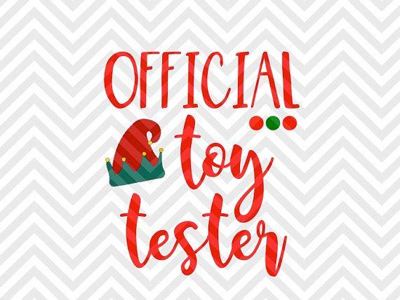 Official Toy Tester Christmas Kids Elf Kids Baby Christmas Onesie Christmas Winter Wonderland Christma Christmas Shirts For Kids Christmas Svg Xmas Shirt Ideas