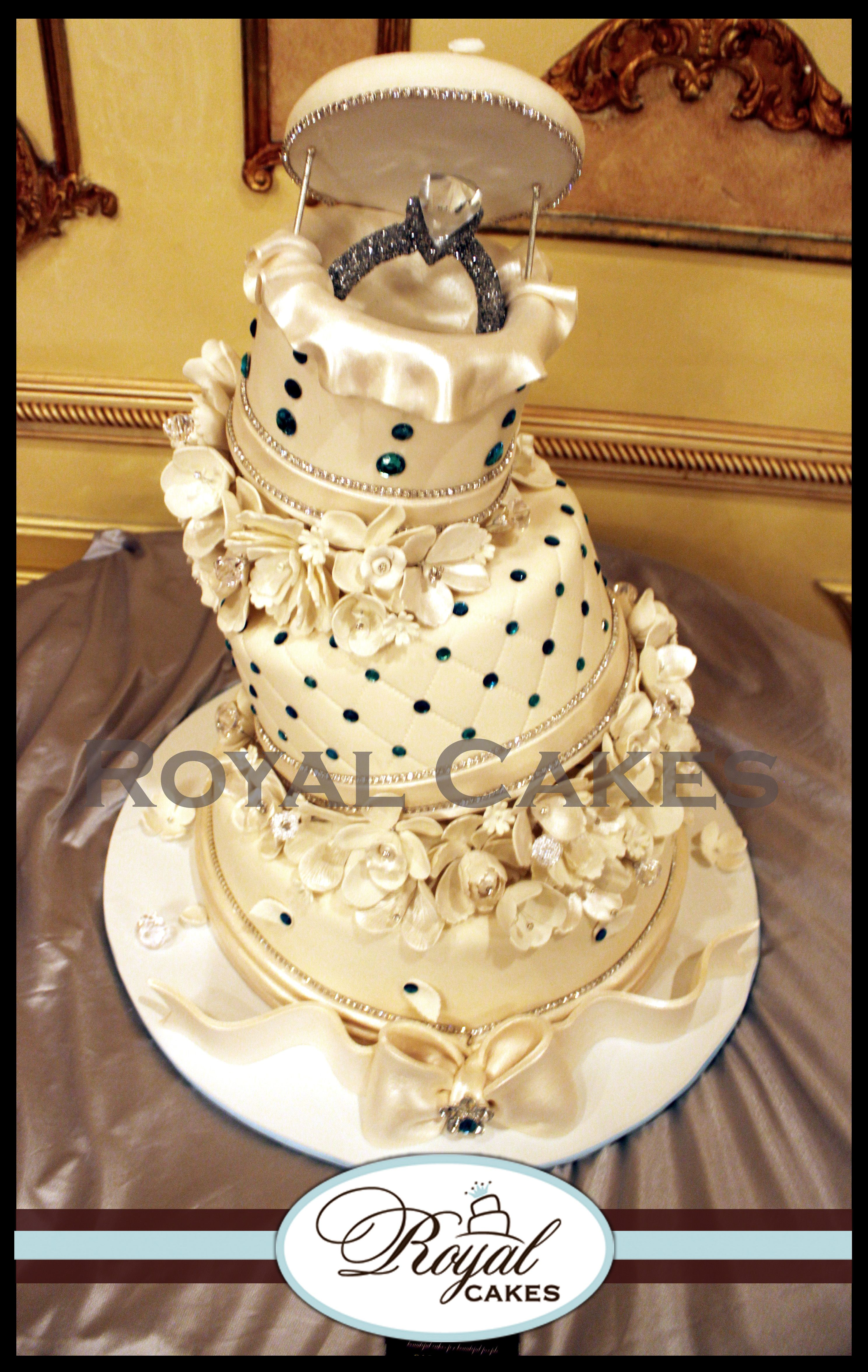 The Proposal! ~ Royal Cakes RoyalCakesLA.com | Creative Cakes...way ...