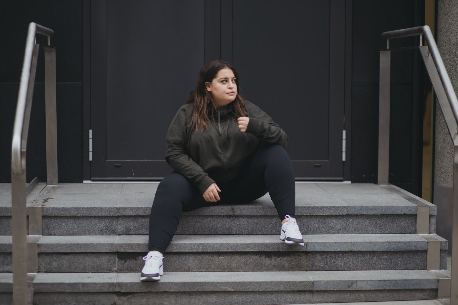 Nike the plus size collection | Janelles shoot in 2019 | Black nikes ...