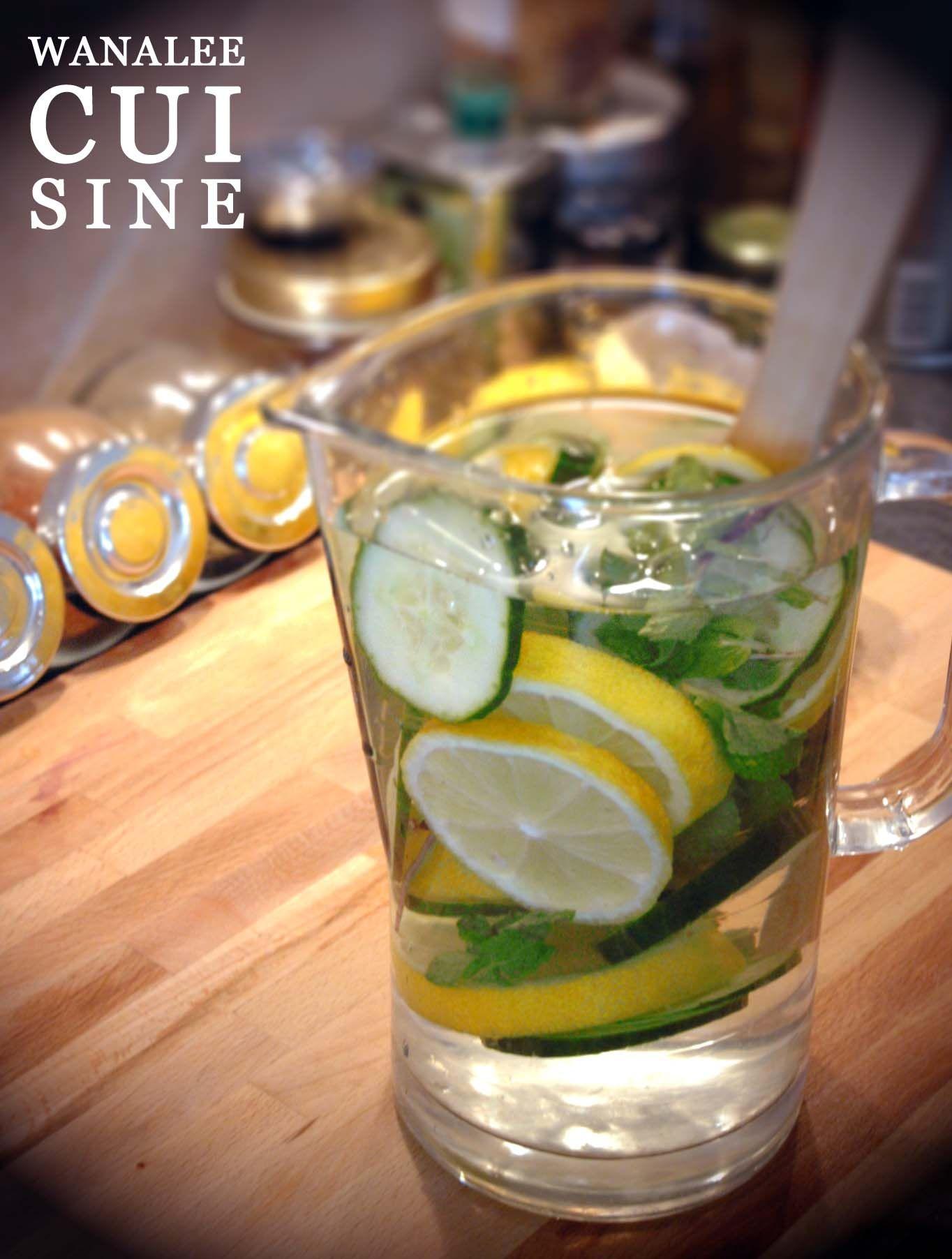 Cocktail détox | Blog cuisine, Recette simple et Détox