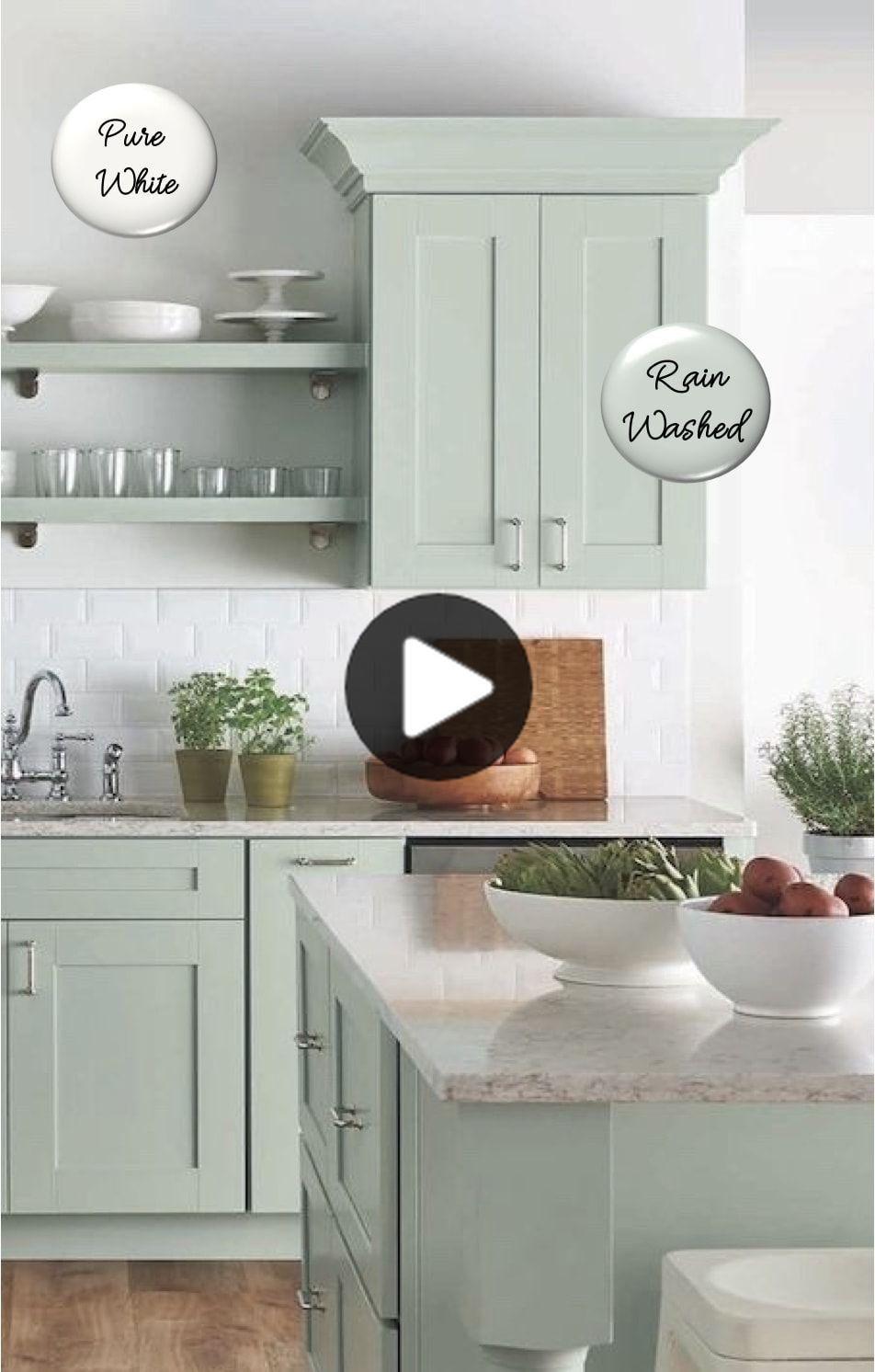 20キャビネットキッチン#キャビネットの色コンボペイントcolor combos kitchen paint