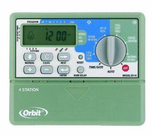 Orbit 57161 Sprinkler System 6 Station Standard Indoor Timer By Orbit 25 95 2 Programs Days Of The Week Or Water Sprinkler Timer Sprinkler System Sprinkler