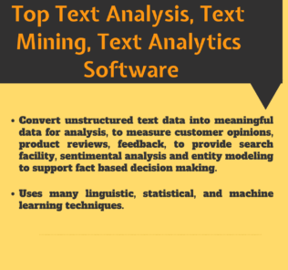 Top 26 Free Software For Text Analysis Text Mining Text Analytics In 2021 Reviews Features Pricing Comparison Pat Research B2b Reviews Buying Guides Text Analysis Learning Techniques Analysis