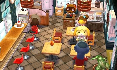 Animal Crossing: Happy Home Designer The town\'s new cafe is here ...