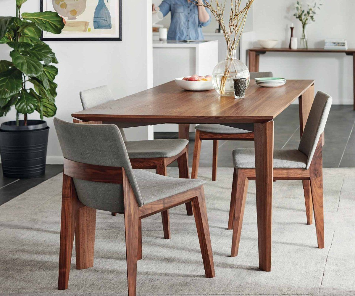 Vidare Dining Table Dania Furniture Scandinavian Dining Room