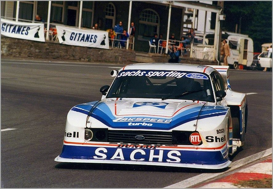 Zakspeed Turbo Ford Capri Group 5 Ford Capri Ford Motorsport