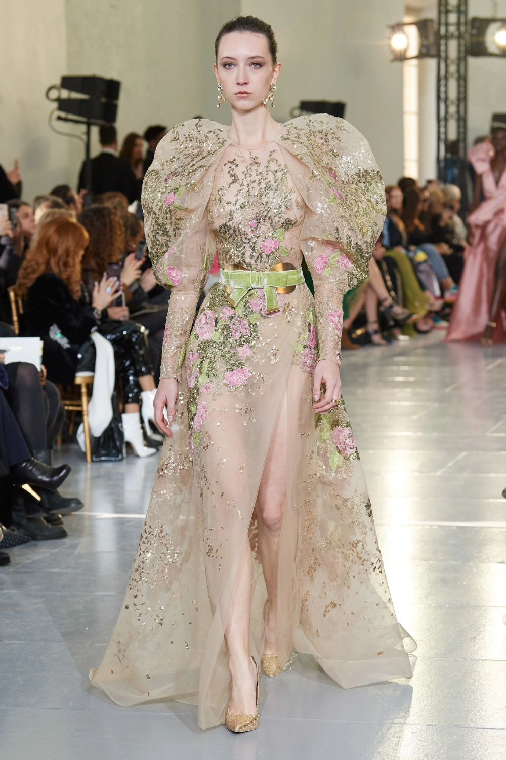 Elie Saab Spring 2020 Couture Collection Vogue In 2020 Fashion Show Elie Saab Spring Couture Fashion