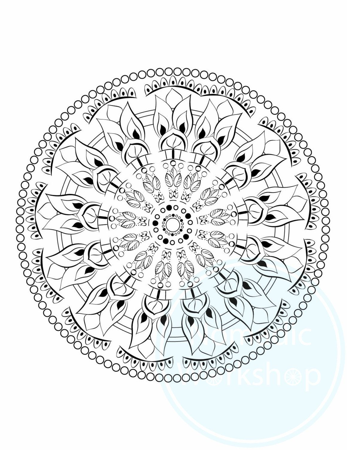 mandala 1 free page coloring page for adults coloring pages coloring for adults coloring. Black Bedroom Furniture Sets. Home Design Ideas
